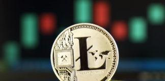 litecoin concept physical coin