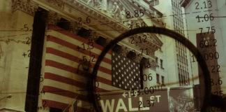 US stocks and wall street