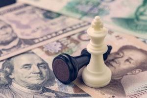 dollar, Dollar Struggling over Trade War, Gov't Shutdown