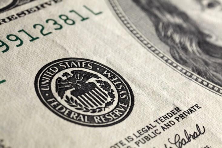 Asian Market: Close-up shot of a dollar banknote