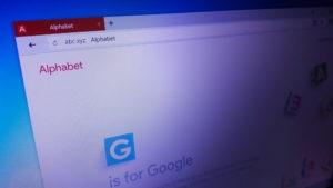 Alphabet in browser