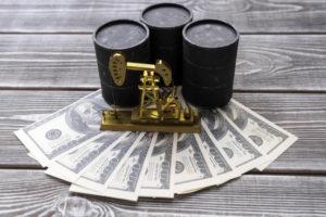 barrels and dollars