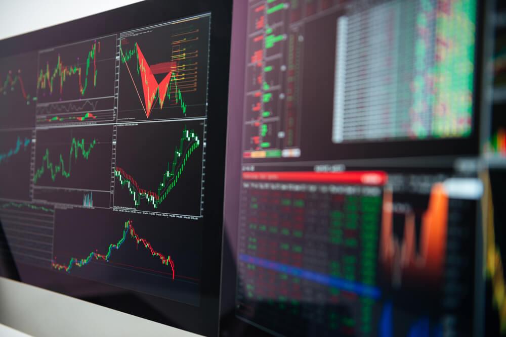 Wibest Broker-FX Market: Graphs showing forex currencies movements