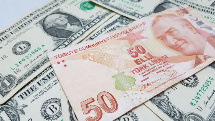 Wibest – Turkish: Turkish Lira and US Dollar bills.