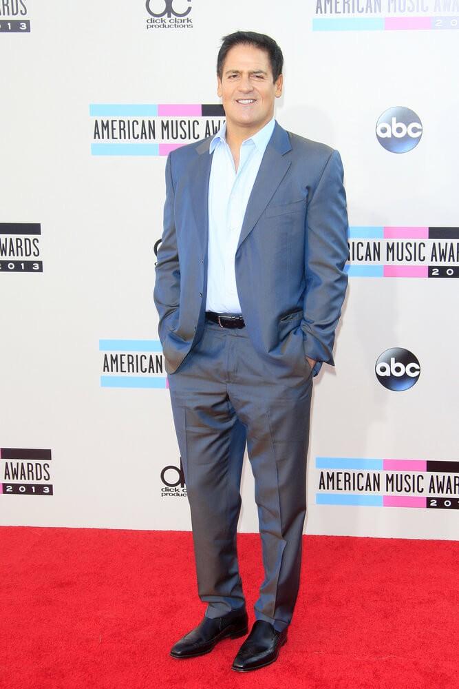 Digital Coins: Mark Cuban at the 2013 American Music Awards