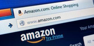 Amazon.Com: Amazon.com homepage on the screen.