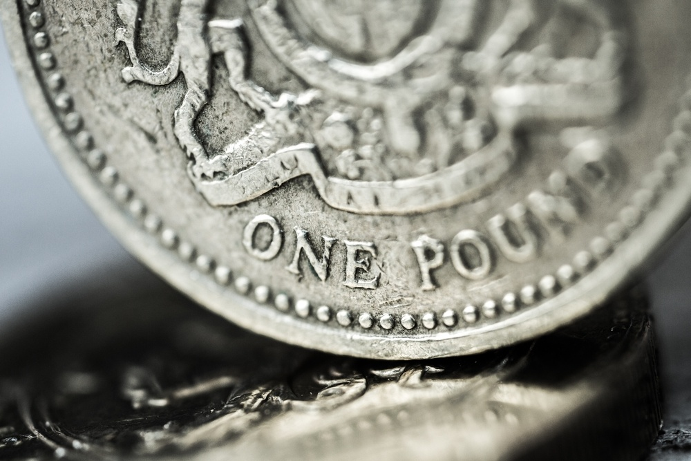 Wibest – Pound: A close up shot of the British pound coin.