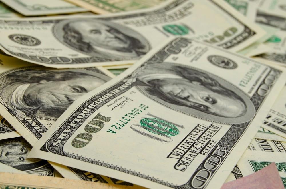 Wibest – fx market: US dollar bills.