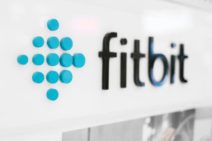 Fitbit: Fitbit logo.