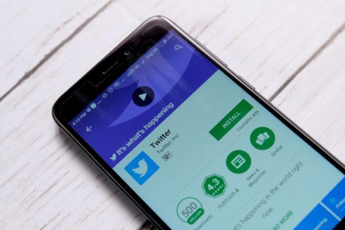 wibest broker - Twitter app as seen on Google PlayStore