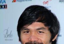Professional Boxing: Manny Pacquiao close up photo.