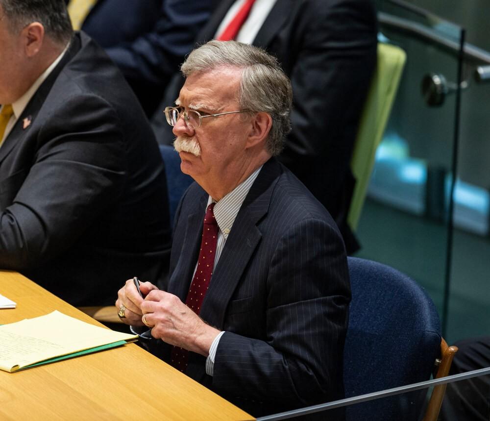 National Security Advisor: US National Security Advisor John Bolton