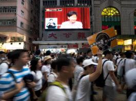 Wibest – Hong Kong Chief Executive: Protesters in Hong Kong