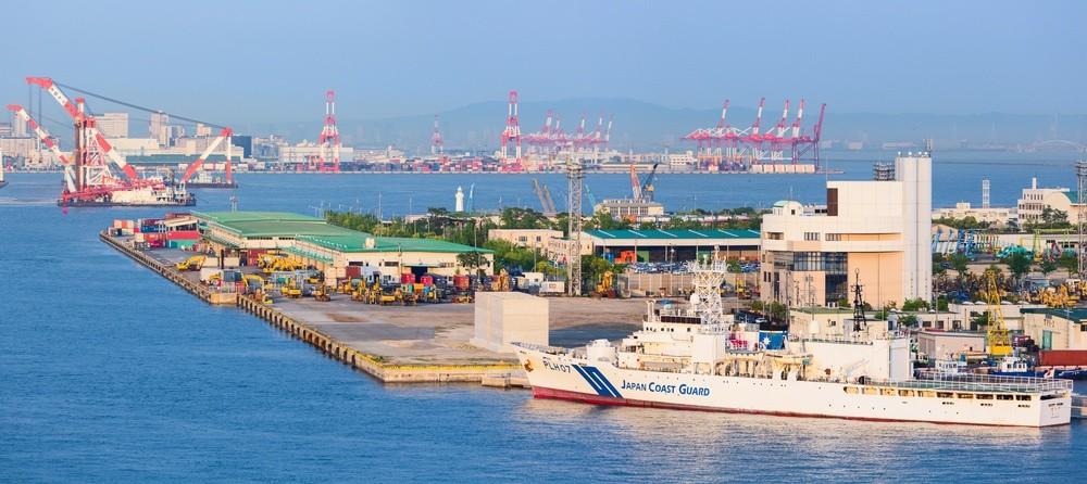 Wibest – BOJ: the port of Kobe in Kobe, Hyōgo, Japan.