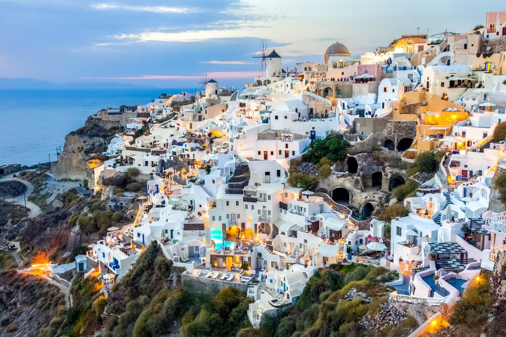 Wibest – Greek: The island of Santorini, Greece.