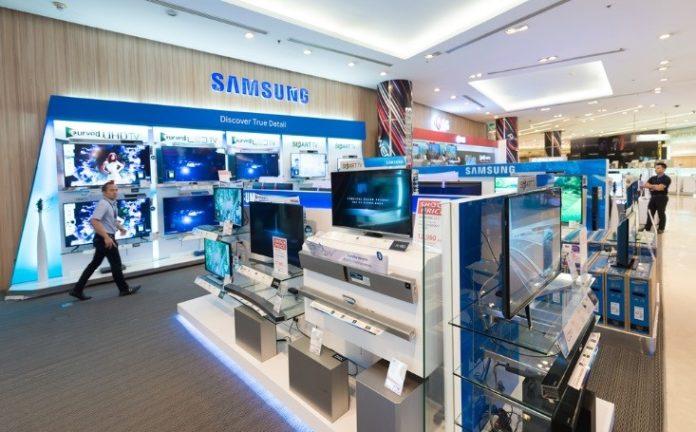 inside a Samsung appliance store – wibestbroker
