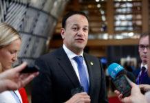Wibest – Irish Prime Minister: Leo Varadkar talking to the press.