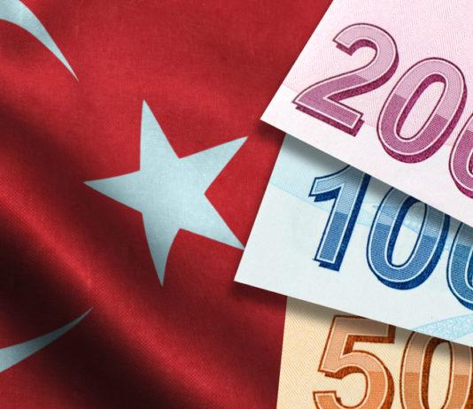 Wibest – Turkish: Turkish lira bills over the country's flag.
