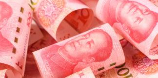Wibest – Bank of China: Chinese yuan bills.