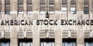 American: American stock exchange sign.
