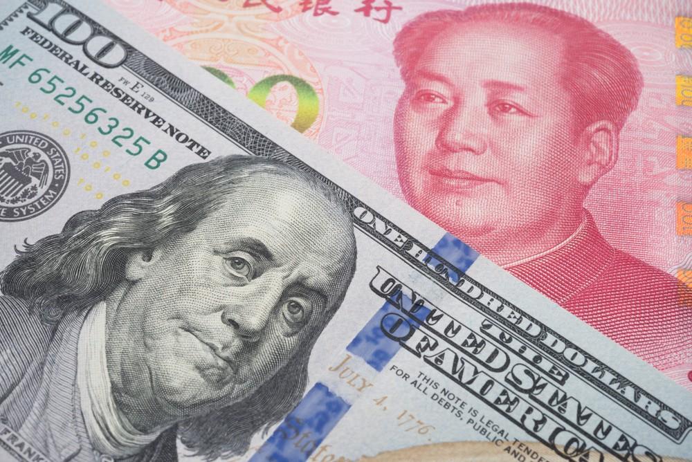 Wibest – USD to CNY: USD and CNY bills.