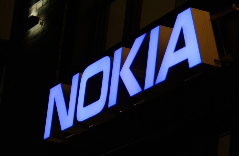 Nokia: The logo of the brand Nokia.
