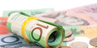 Wibest – Australian Money: Australian dollar coins and bills.