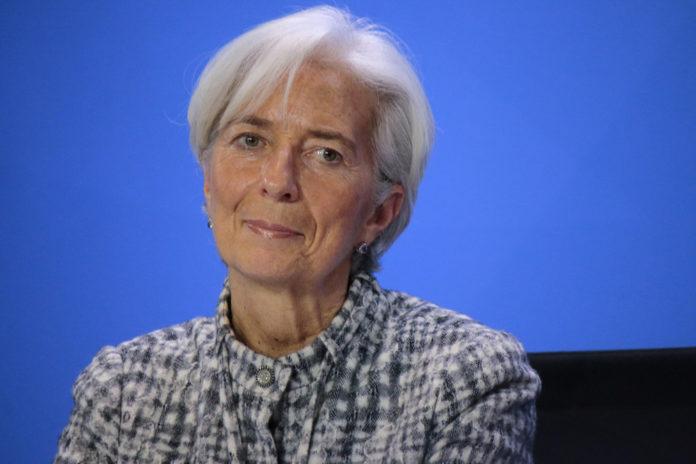 Wibest – ECB: Christine Lagarde.