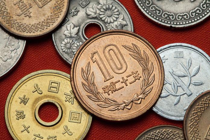Wibest – Japan Yen: Japanese yen coins.