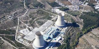 Wibest – EDF Paris: An aerial shot of a nuclear power plant.