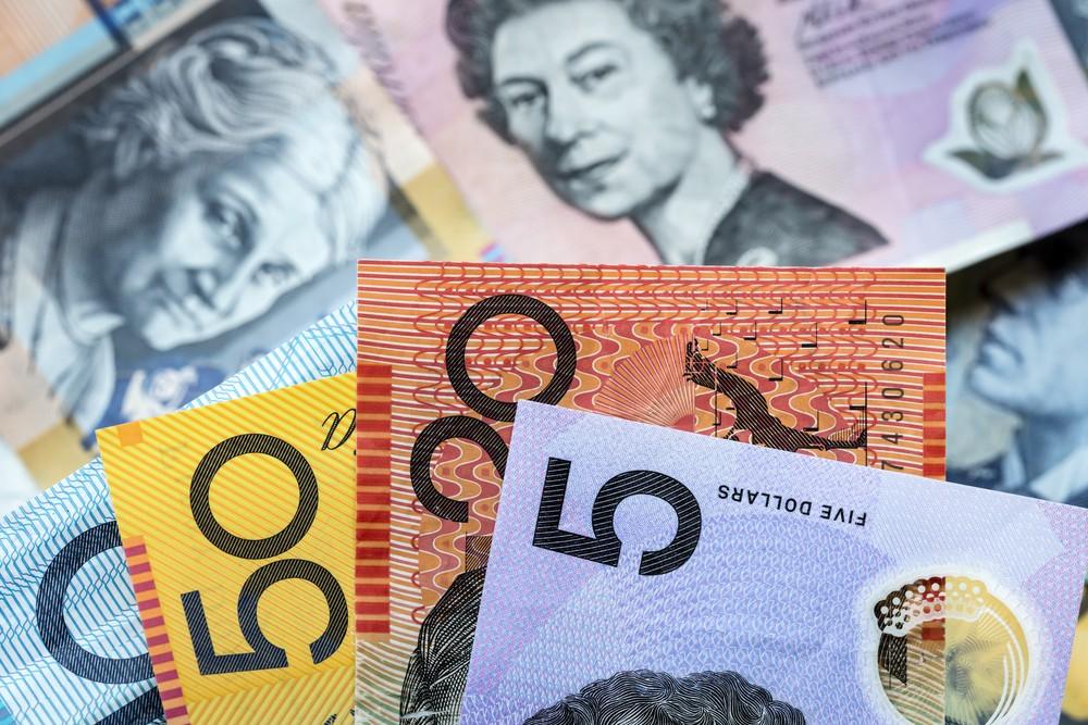 Wibest – GBP AUD: Australian dollar bills.