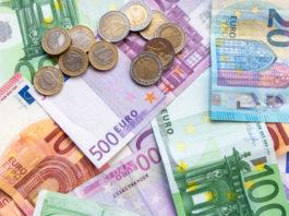 Wibest – German: Euro coins and bills.