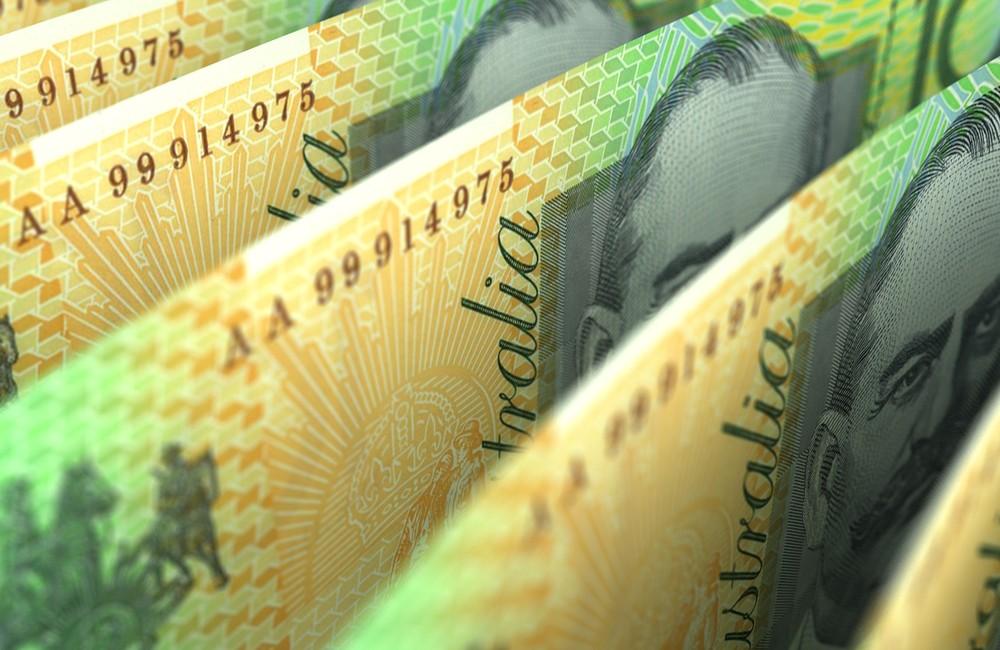 Wibest – Australian Money: Australian dollar notes.