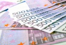 Wibest – Eurozone: 500 euro notes.