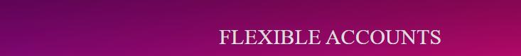 flexible accounts