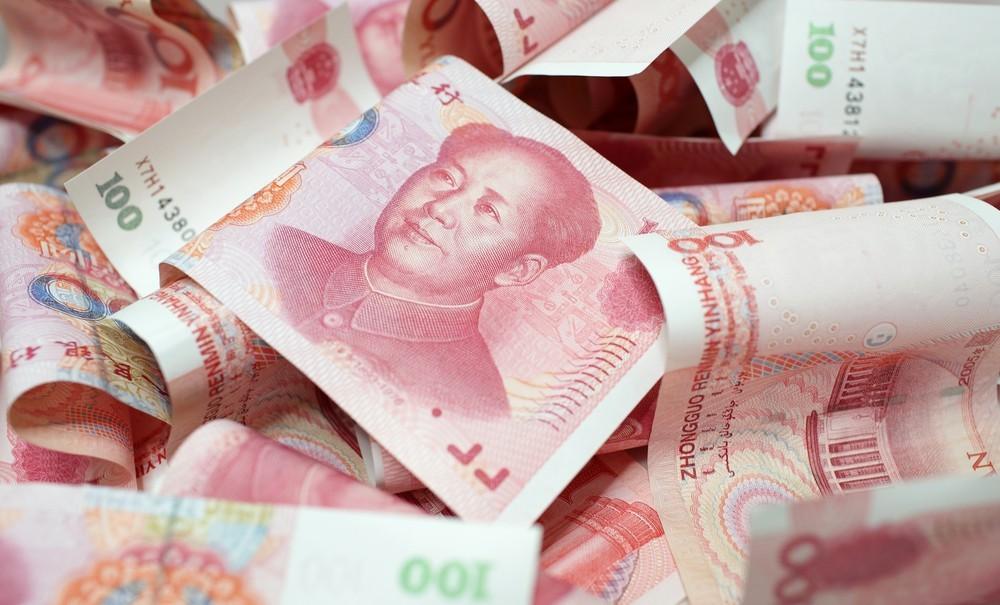 Wibest – Chinese yuan bills.