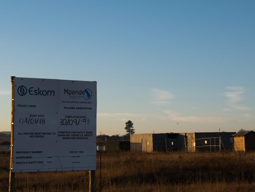 Wibest – Eskom: An energy plant.