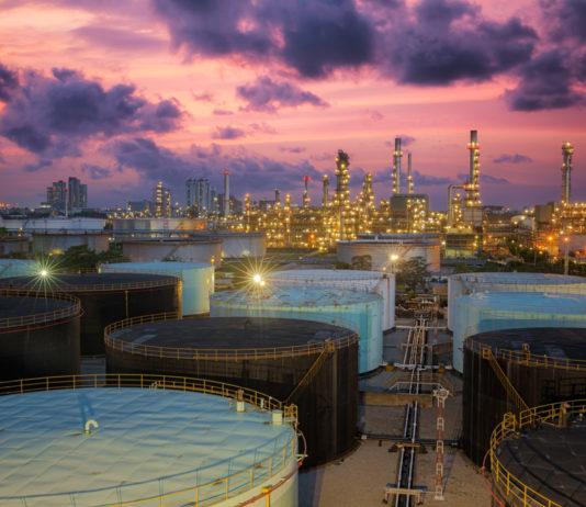 Wibest – Iran: An crude oil refinery.