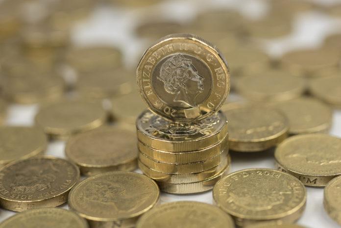Wibest – Pound Sterling coins.