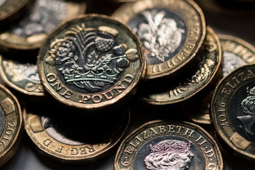 Wibest – Pound Sterling: Pound sterling coins.