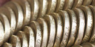 Wibest – Pound Exchange: Pound sterling coins.