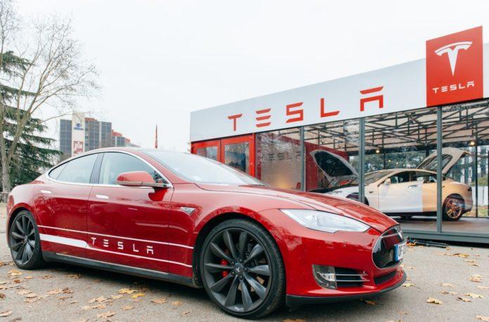 Tesla's market cap