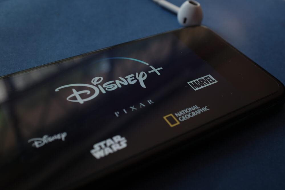 Disney plus, Marvel, Pixar, Star Sars, National Geographic.