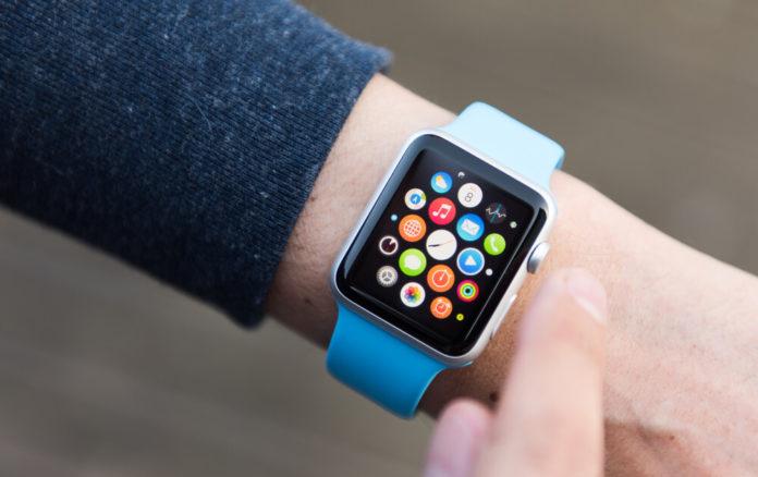 Valve: Man Using App on Apple Watch