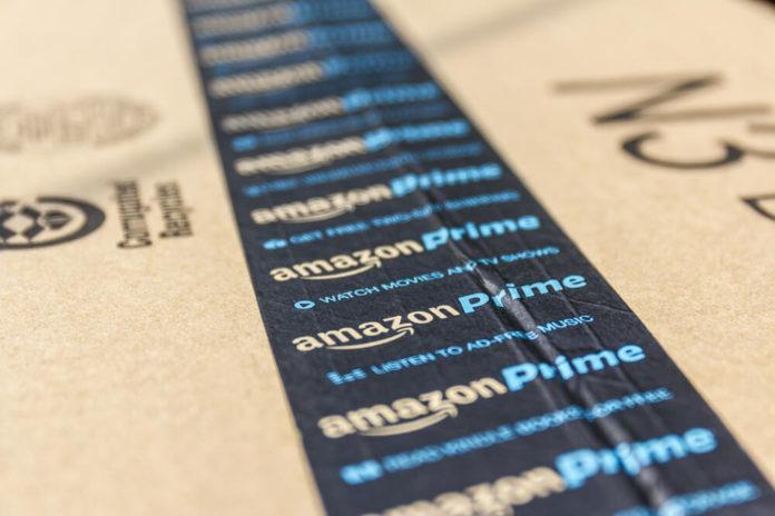 Amazon Prime Parcel Package.