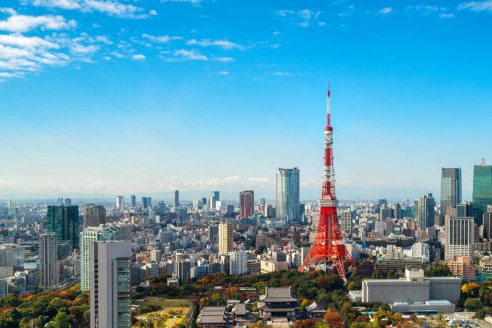 GMO: Tokyo Tower, Japan