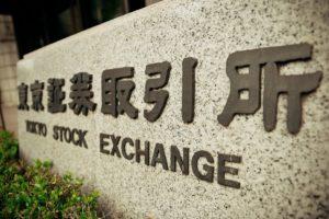 Japanese stocks on Tuesday