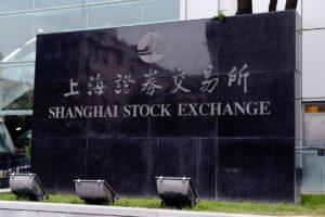 Chinese stocks on Wednesday