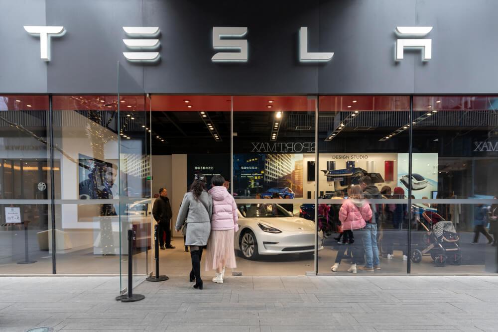 Tesla show room photo