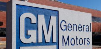 General Motors Logo and Signage.